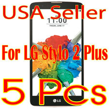 5x NewLG Stylo 2 Plus Screen Protector Film High Definition (HD) Clear  (USA)