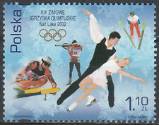 Poland 2002 - Winter olympics in Salt Lake City - Fi 3802 MNH**