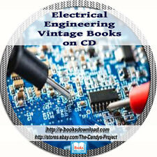 Electrical Engineering Electronic Circuits Electric Vintage Books DVd Collection