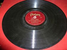 DAVE BRUBECK somebody loves me / crazy chris ( jazz ) 78 rpm fantasy 517