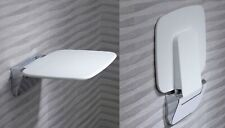 Roper Rhodes Bathroom Folding Shower Seat Compact Thermoset White 160kg 8020