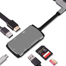 ADAPTADOR HUAWEI MATE 10, P20, P 20 PRO, USB TIPO C a HDMI, USB, SD, PC MODE
