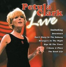 FREE US SHIP. on ANY 2 CDs! USED,MINT CD Petula Clark: Live Import