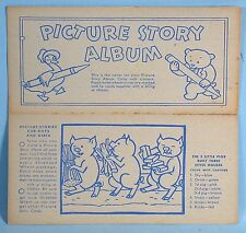 8 Nabisco Shredded Wheat Picture Story Album Cards 1936 NBC Cereal Box Premium