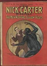 FASCICULE NICK CARTER SERIE II N°28. ED A. EICHLER. DEBUT DE SIECLE.