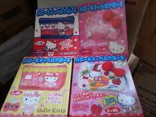 Kabaya Sanrio Hello Kitty Pouch Coins Bag Full Set of 4 pcs