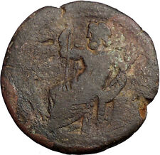 HADRIAN 134AD RARE Ancient Roman Coin ZEUS Cult Eagle Egypt Alexandria i31024