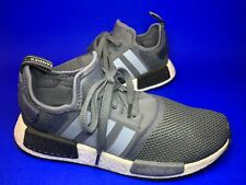 New listing Adidas NMD R1 Boost Trainers Running Shoes Size UK8 Clear Grey Blue Mint Cond