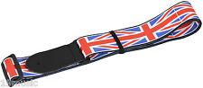 Union Jack de cuero correa de guitarra Cabezal 19 Music UK Bandera británica Cool Regalo Navidad bajo