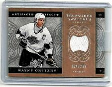 WAYNE GRETZKY 2007-08 UPPER DECK ARTIFACTS BRONZE EDITION GAME USED JERSEY#/299