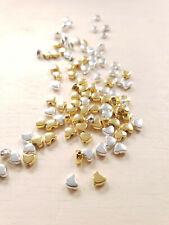 60 x Gemischte Herzperlen zur Schmuckherstellung Beads Spacer Basteln Deko