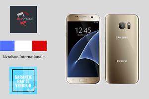 Samsung Galaxy- S7- 32Go- GOLD- Désimlocké