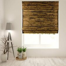 Java Deep Bamboo Cordless Roman Shade