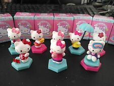 New 8pcs/set 1.8''Hello kitty Anime action figure PVC Toys Cake decoration Gifts