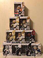 Star Wars Mighty Muggs Lot Vader Trooper Han Maul Luke
