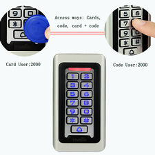 TOP Waterproof IP68 Keypad Standalone Access Control Home Door Entry Controller