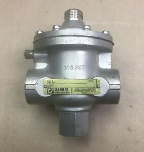 """CLA-VAL 102C-3H 3 WAY PILOT VALVE 20499601-D 1/2"""" STAINLESS STEEL BODY AND TRIM"""