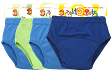 Bright Bots 4PK Washable Potty Training Pants Reuseable Blue  Medium