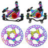 Rainbow ZOOM XETCH HB100 BIKE Disc Brake Calipers  MTB Hydraulic BRAKE Clamp