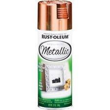 Rust-Oleum 1937830 Metallic Spray, Each, Copper
