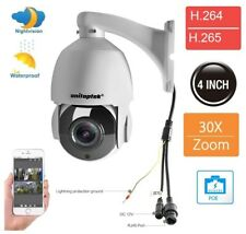 Built-in POE 30X Zoom 2MP Outdoor HD PTZ IP Speed Dome Camera IR Night Vision HD