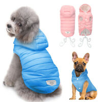 Waterproof Pet Winter Clothes for Small Medium Dog Warm Cotton Jacket Puppy Coat