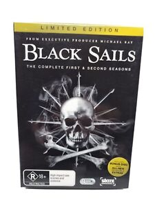 Black Sails : Season 1 & 2 (DVD)