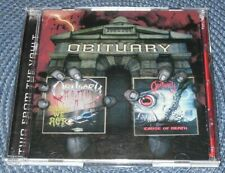 OBITUARY – SLOWLY WE ROT / CAUSE OF DEATH 2 CD
