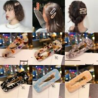 Women Vintage Leopard Hair Clip Bobby Pin Hairband Hairpin Barrette Comb Girls