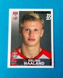 2019 Panini Fussball Stickers Erling Haaland Golden Boy ROOKIE RC #32