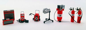 1:18 GMP Texaco Shop Tool Set #1 GMP18870