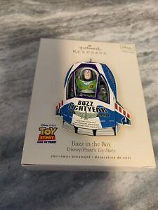 Hallmark Keepsake Disney/ Pixar's Toy Story Buzz In The Box Christmas Ornament