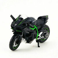 Kawasaki Ninja H2R 1/18 Maisto Diecast Motorbike Black Vehicles Kids Toy Gift