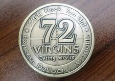 USMC Challenge Coin United States Marine Corps 72 Virgin morale coin