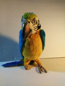 FurReal Friends Squawkers McCaw Talking Parrot Bird 2006 FOR PARTS
