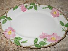 Vintage USA Franciscan Desert Rose Oval Platter 8.5 x 12.5 Mothers Day Arrival