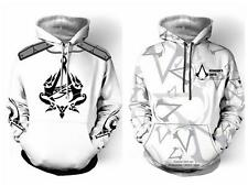 Assassins Creed Cosplay Hoodie Sweater Assassin's Pullover Coat Custume Top Suit