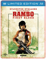 Rambo - First Blood Limitée Steelbook Édition (Blu Ray + DVD) Sylvester Stallone