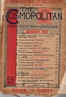 1902 Cosmopolitan January - Teddy Roosevelt's Life; John Barrymore; Last Indians
