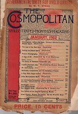 1902 Cosmopolitan January - Teddy Roosevelt's Life; John Barrymore; Last Indians
