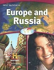Europe and Russia 2012 by HOLT MCDOUGAL