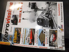 45$$ Revue Ferrovissime n°4 Portrait X2400 / Grue Kirow / XB 1000 Bugatti....