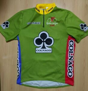 COLNAGO Tour Rominger Classic Vintage Cycling Jersey Size XXL