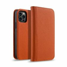 Melkco Flip Genuine Leather Cowhide Case for All iPhone 12 Card Slot Luxury Real