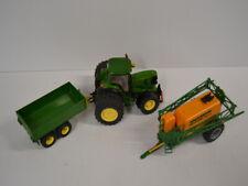 Siku Farmer 1:32 Traktor 3252 John Deere 6920S Anhänger 2415+ 3722 Feldspritze