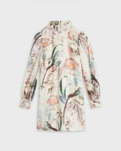 Ted Baker Decadence Shift Dress Size 1,2,3, 4 RRP $409