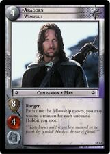 Lotr Tcg Aragorn Wingfoot 4P364 The Two Towers Lord of the Rings Vf Foil