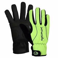 Optimum Hawkley Winter Cycling Gloves  Fluro-Green Small