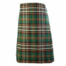 Irish Men's 'Heritage of Ireland' Traditional 8 Yard Poly Blend Kilt - Size 32