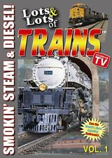 Lots & Lots of Trains DVD Vol. 1 (2007, New, Buy Direct, Free Ship, Kids Gift)